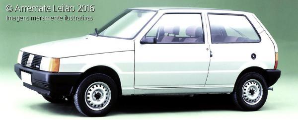 FIAT UNO MILLE 1992 -BRANCO